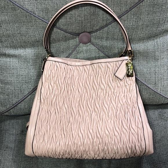 Coach Madison Phoebe Twisted leather bag